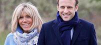 چهره بانوی اول فرانسه همگان را شوکه کرد