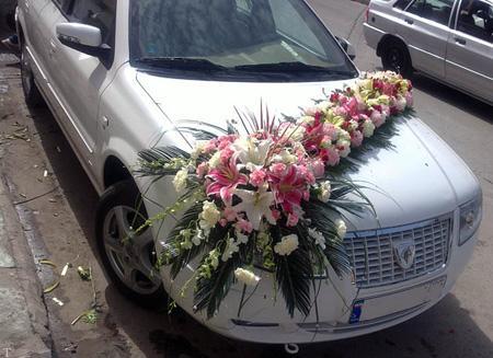 چگونه ماشین عروس را تزیین کنیم ؟