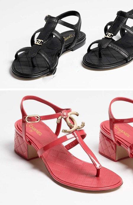 مدل های تابستانه صندل و کفش زنانه در برند شنل