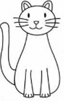 آموزش طراحی گربه مرحله به مرحله برای کودک
