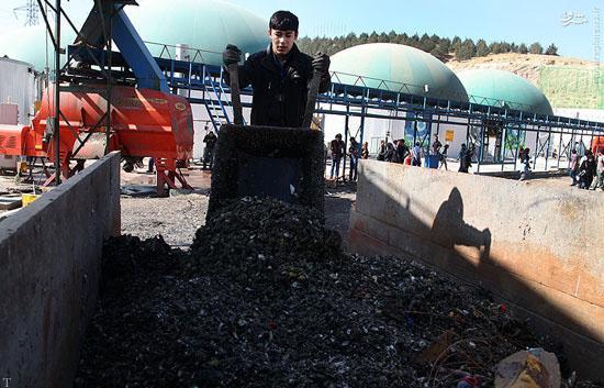 عکس هایی از تبدیل کردن زباله های شهری به برق در پایتخت
