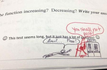 شوخی های خنده دار به صورت عکس از معلم و مدرسه