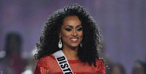تصویری از «ملکه زیبایی امریکا-2020»