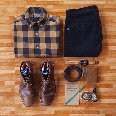 گلچین های فوق زیبا از ست انواع لباس مردانه