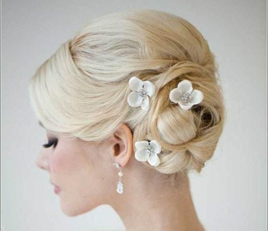 مدلهای موی شینیون عروس خوشگل