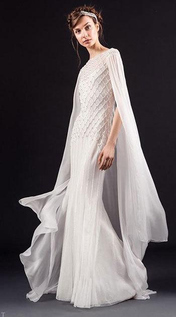 زیباترین و جدیدترین مدل های لباس عروس اروپایی