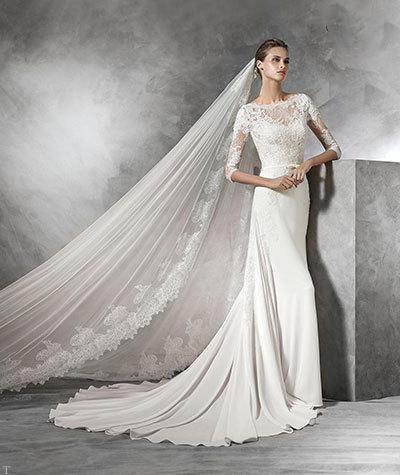 مدل های زیبا و جدید لباس عروس اروپایی