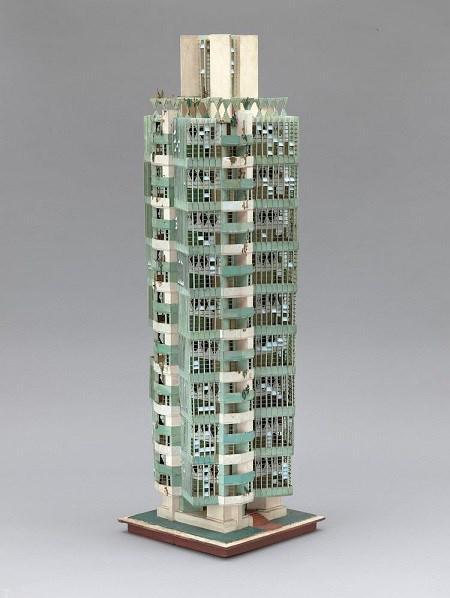 رونمایی از طراحی و ماکت های معماری «فرانک لوید رایت»