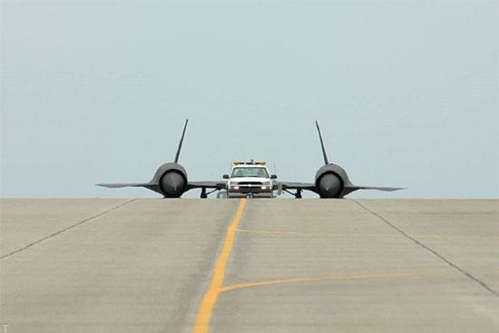 تصویری از «پرنده سیاه» هواپیمای فوق سری ایالات متحده