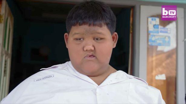 «آریا پری مارا » چاق ترین پسر دنیا