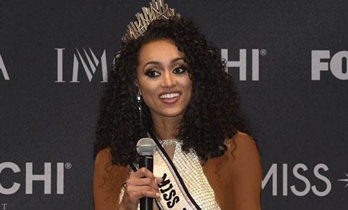 تصویری از «ملکه زیبایی امریکا-2021»