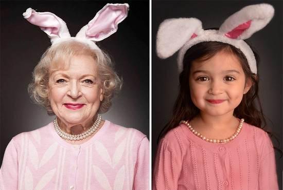 استایل دختر بچه سه ساله شبیه به بازیگران
