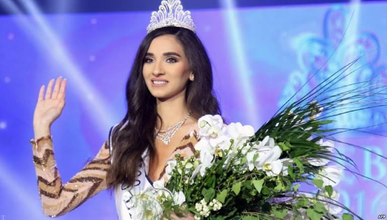 ملکه زیبای در کاخ ریاست جمهوری لبنان
