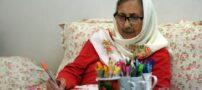 مادر بزرگ «نقاش» در سن 86 سالگی (عکس)