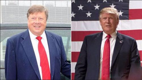 تفاوت عجیب سن دونالد ترامپ با پدر زنش