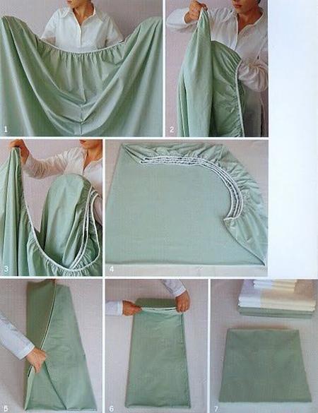 ترفند جالب مرتب کردن کمد رختخواب