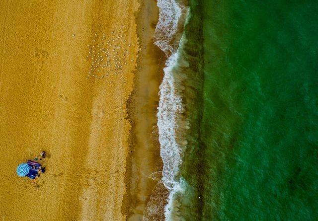زیباترین عکس روز نشنال جئوگرافیک «دریا و ساحل»