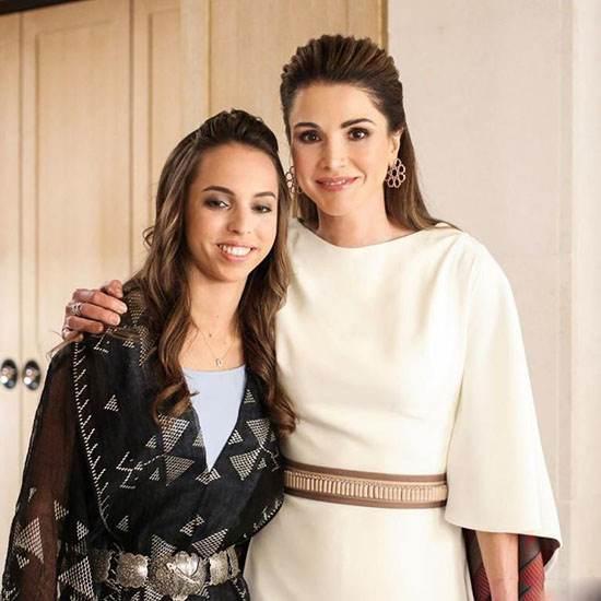 زیباترین زن عرب ملکه رانیا عبدالله همسر پادشاه اردن