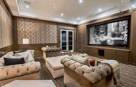 دکوراسیون منزل رویایی لاکچری د ویکند خواننده مشهور