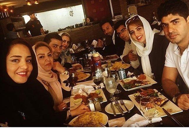 چهره های مشهور در کنار خانواده هایشان (عکس)