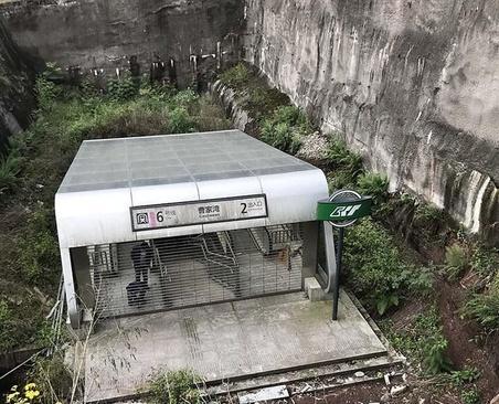 متروکه ترین ایستگاه مترو در دنیا (عکس)