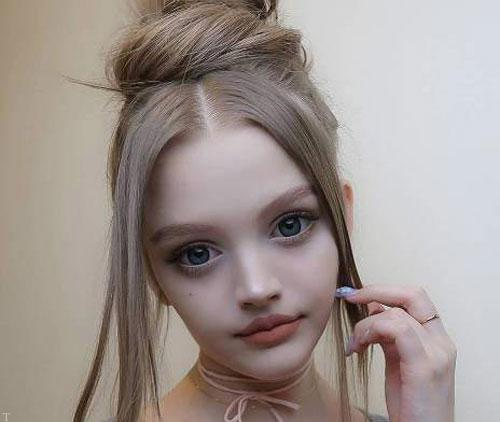 شباهت عجیب این دختر به باربی (عکس)