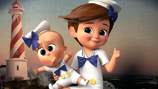ابتکارهای متعدد در انیمیشن «بچه رئیس»