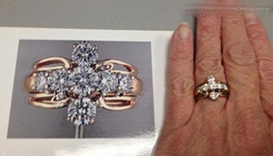 پیدا شدن معجزه آسا انگشتر 6 هزار دلاری (عکس)