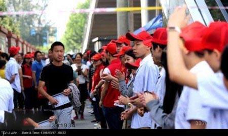 بزرگترین آزمون کنکور دنیا در چین « تصویری»