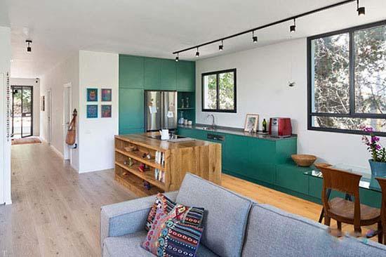 طراحی آپارتمان کوچک توسط معماری به نام Losica Tal