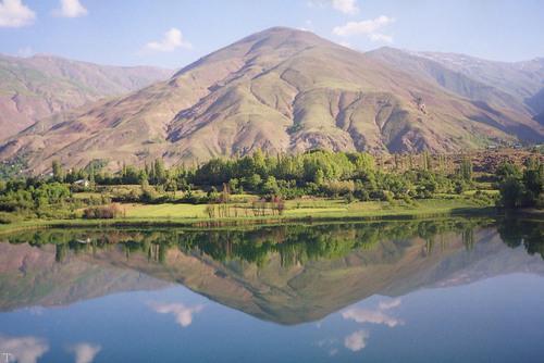 دریاچه بسیار زیبای «اوان» مقصد گردشگران