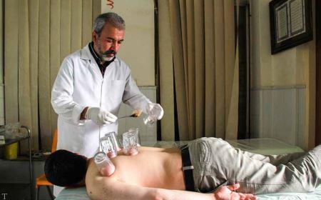 تصاویر ترسناک از حجامت انداختن در ایران
