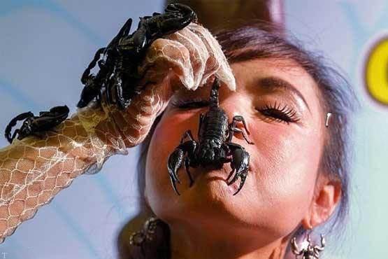 اقدام عجیبی دختر تایلندی مشهور «ملکه عقرب»
