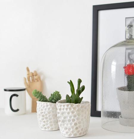 نحوه ساخت گلدان های شیک تزیینی
