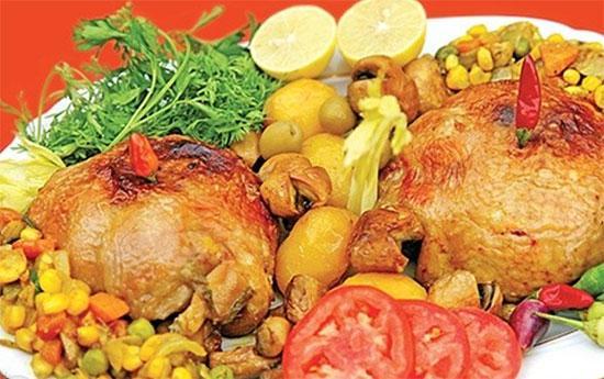 آموزش تهیه غذایی لذیذ (دلمه مرغ)