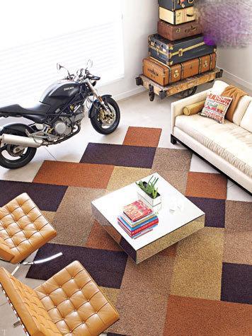 نحوه ی چیدمان فرش در خانه