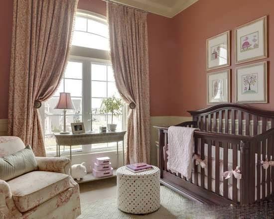 طراحی دکوراسیون اتاق نوزاد با چیدمان شیک