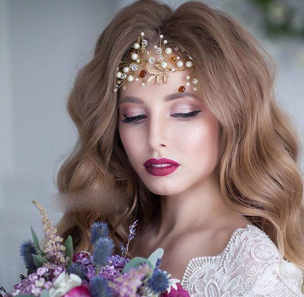 مدل های زیبا و جذاب تاج عروس برای خانم ها