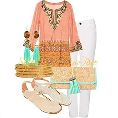 ترکیب شلوار سفید بهترین انتخاب ها برای شیک پوشی