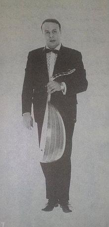 خواننده و نوازنده ایرانی امانالله تاجیک