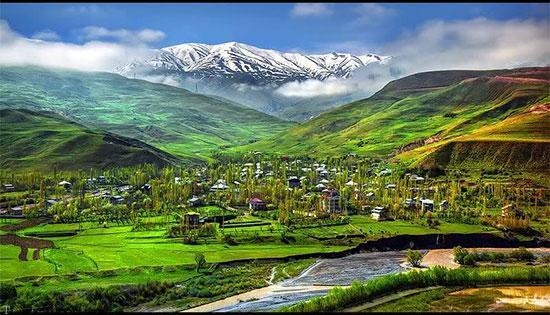 سفر به دشت ها و دره های سرسبز ایران