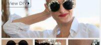 آموزش تزیین عینک آفتابی ساده با مروارید