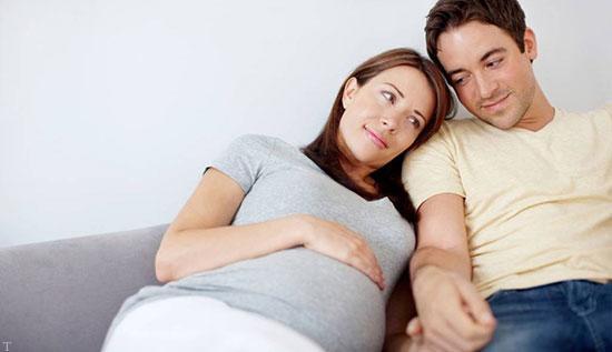 تاثیر همراهی مرد در دوران بارداری همسر