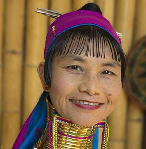 این خانم عجیب ، مشهور به بانوی زرافه (+عکس)