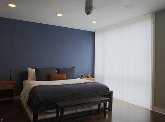 دکوراسیون پر از انرژی و آرامش در اتاق خواب