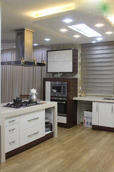 چگونه طراحی مدرن آشپزخانه داشته باشیم
