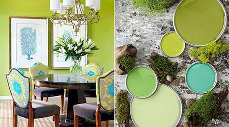 زیبا و شاد ترین رنگ های اتاق نشیمن