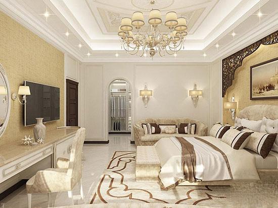 ۷ ایده لوکس جهت دیزاین اتاق خواب کلاسیک
