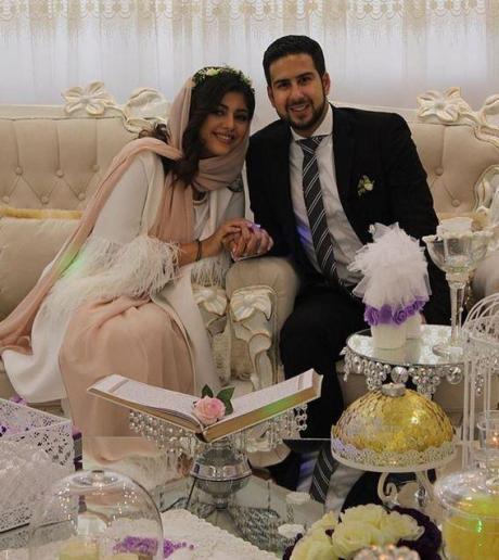 تصاویری از مراسم عروسی نیوشا افشار شطرنج باز ایران