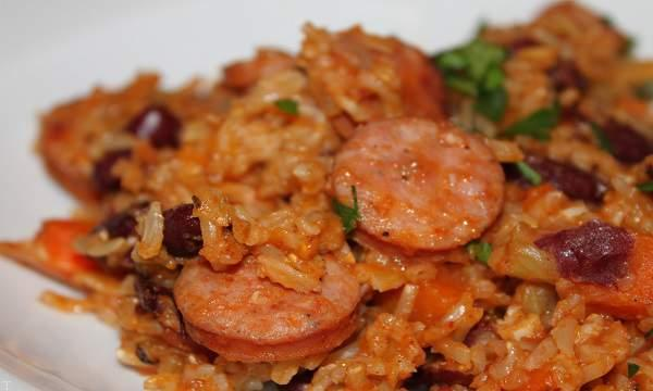 غذای جدید و خوشمزه «سوسیس پلو»